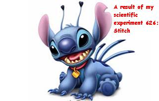 My Experiment # 626: Stitch