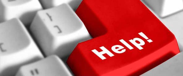 help computer button