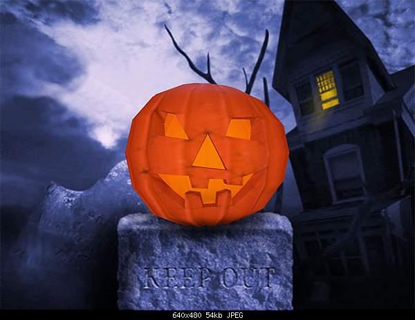 Даваите устроим  Хэллоуин ( Halloween )-halloween_pumpkin_3d_screensaver.jpg