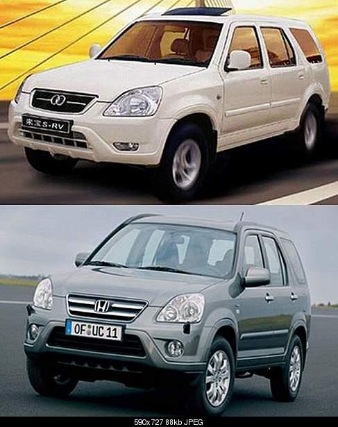 Laibao SI RV as Honda CRV ЩВЖ. Китайские авто,песочница.