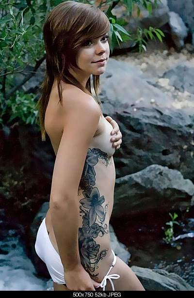 :::ТАТУИРОВКА ::: это искусство?-beauty-girls-flowers-tattoos.jpg