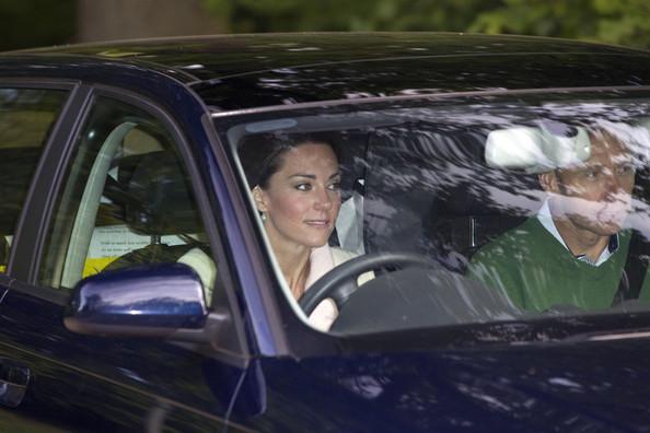 photo of Kate Middleton Audi - car